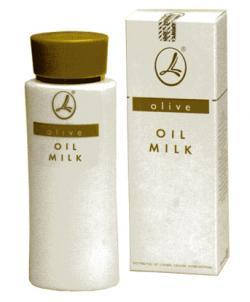 Оливковое молочко Lambre для снятия макияжа
