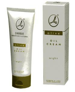 Ночной оливковый крем Lambre для чувствительной кожи