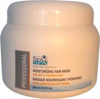 Увлажняющая маска для сухих и окрашенных волос PROFESSIONAL / 500 мл / Sea of spa