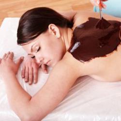 """Набор для спа-процедуры шоколадное обертывание """"Шоколад и корица"""" Альганика"""