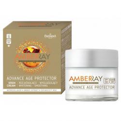 Янтарный омолаживающий дневной крем для лица SPF30 / 50 мл / Amberray Farmona