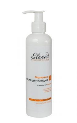 Молочко после депиляции с экстрактом ромашки / 250 мл / Elenis