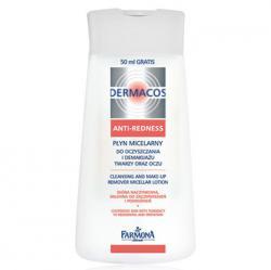 Farmona Dermacos Anti-Redness Мицеллярный лосьон для демакияжа / 200 мл / Фармона