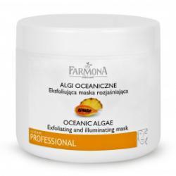 Farmona Ocean Algae Альгинатная Эксфолиирующая тонизирующая маска для проблемной, жирной и чувствительной кожи / 190 гр / Фармона