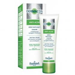 Farmona Dermacos Anti-Acne Крем матирующий дневной для лица / 50 мл / Фармона