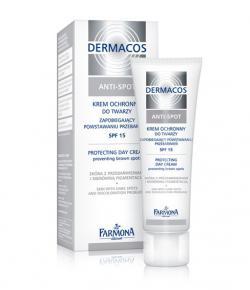 Farmona Dermacos Anti-Spot SPF 15 Дневной защитный крем для лица против пигментации / 50 мл / Фармона