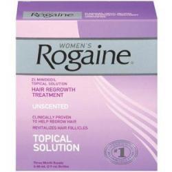 Рогейн для женщин ( Rogaine women's ) / 3 фл x 60 г / США