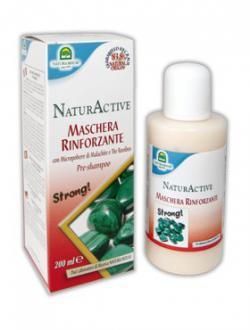 Маска с малахитом для укрепления волос / 200 мл / Natura House