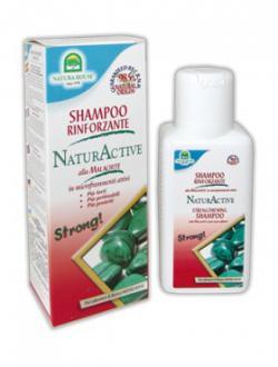 Шампунь с малахитом для укрепления волос / 250 мл / Natura House