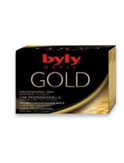 Профессиональный воск для депиляции с золотом / 300 мл / Byly Depil Gold Professional Wax