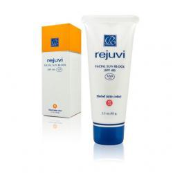 Солнцезащитный крем для лица - Facial Sun Block SPF 40 / 65 мл / Rejuvi
