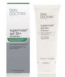 Увлажняющий солнцезащитный крем для лица Supermoist SPF 30 Accelerator / 50 мл/ Skin Doctors