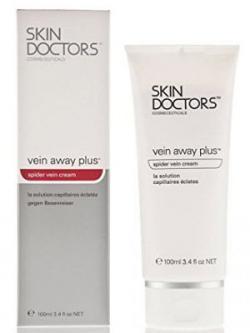 Vein Away Plus™ многофункциональный крем для лица и тела от поврежденных капилляров и сосудистых звездочек / 100 мл/ Skin Doctors Скин Докторс