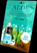 Противовоспалительная тканевая маска с экстрактом алоэ Ekel Экель