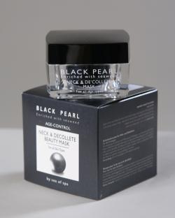 Маска красоты для шеи и области декольте. Для всех типов кожи/50 мл/ серия «BLACK PEARL»