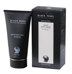 """Жемчужный крем для ног/150 мл/серия """"BLACK PEARL"""""""