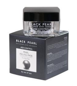 Жемчужная очищающая маска-пилинг для всех типов кожи/50 мл/ серия «BLACK PEARL»