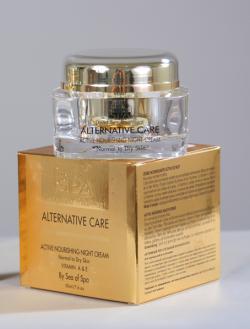 Активный питательный ночной крем с микрокапсулами «ALTERNATIVE CARE»