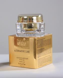 Активный крем для ухода за кожей вокруг глаз, серия «ALTERNATIVE CARE». Для нормальной и сухой кожи.