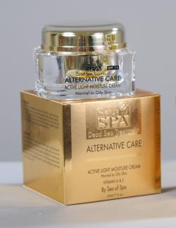 Увлажняющий дневной крем для нормальной и жирной кожи «ALTERNATIVE CARE»