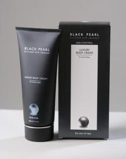 Жемчужный крем для тела с ароматом COCO SHANEL/200 мл/ серия «BLACK PEARL»