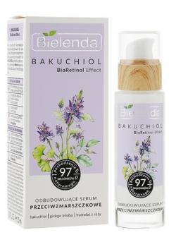 BIELENDA BAKUCHIOL BioRetinol Effect Восстанавливающая сыворотка против морщин день / ночь, 30 мл