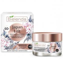 Bielenda Japan lift Крем для лица ночной, восстанавливающий, против морщин 60+, 50 мл