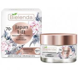 Крем для лица Bielenda Japan lift дневной, восстанавливающий c SPF 6 , против морщин 70+, SPF 6, 50 мл