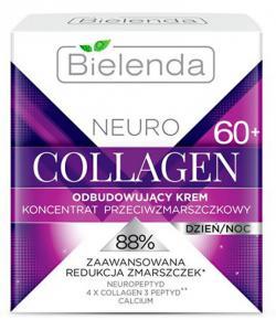 NEURO COLLAGEN BIELENDA Восстанавливающий крем-концентрат против морщин 60+ дневной/ночной 50мл