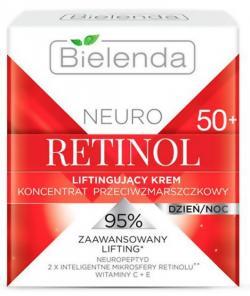 NEURO RETINOL BIELENDA Подтягивающий крем-концентрат против морщин 50+ дневной/ночной 50мл