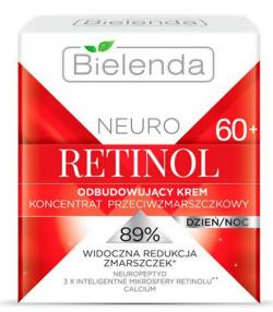 NEURO RETINOL BIELENDA Восстанавливающий крем-концентрат против морщин 60+ дневной/ночной 50мл