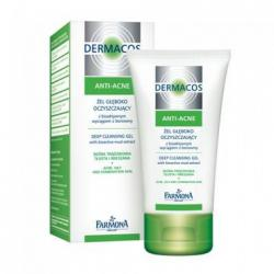 Farmona Dermacos Anti-Acne Анти-Акне Гель для глубокого очищения кожи лица / 150 мл / Фармона