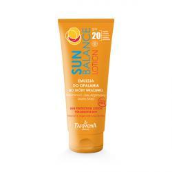 Farmona Sun Balance САН БАЛАНС Солнцезащитный лосьон для загара для чувствительной кожи SPF20 / 200 мл / Фармона