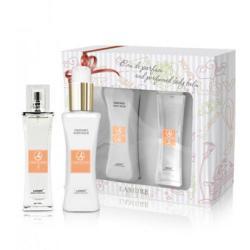 Подарочный парфюмированный набор LAMBRE: парфюмированная вода, 50 мл  + ароматизированный бальзам для тела, 120 мл