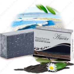 Мыло на основе грязи для лица и тела / 125гр / Shemen Amour
