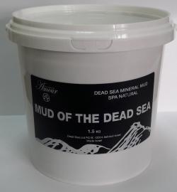 Натуральная минеральная грязь Мертвого моря 1.5 кг (ведро)