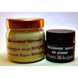 Шоколадное масло массажное на основе БЕЛОГО ШОКОЛАДА / 400 мл / Шоконат