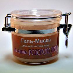 "Гель-Маска ""Винная"" для любого типа кожи на основе РОЗОВОГО ВИНА / 120 мл / Шоконат"