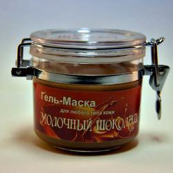 "Гель-Маска для любого типа кожи ""Молочный Шоколад"" / 60 мл / Шоконат"