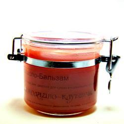 Масло-бальзам ШОКОЛАДНО-КЛУБНИЧНОЕ для сухого и нормального типа кожи / 120 гр / Шоконат