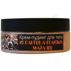 Крем-пудинг для тела из ПАНТОВ АЛТАЙСКИХ МАРАЛОВ / 400г / Шоконат